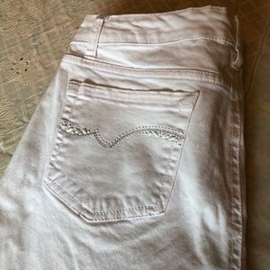 Jones New York Jeans SOHO Capri White Size 12